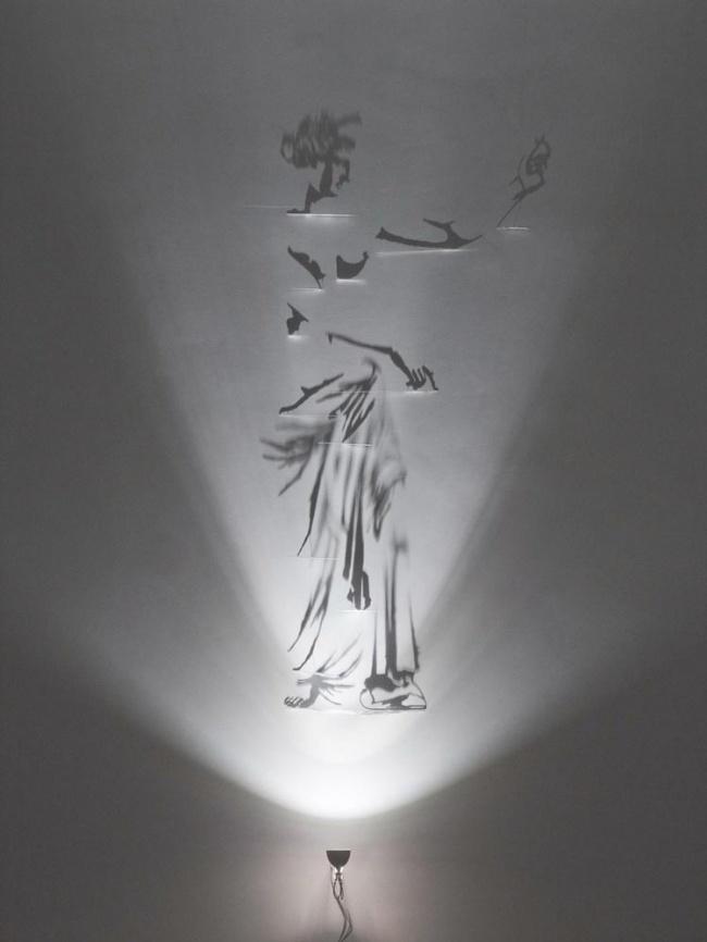 shadows10 Художник, рисующий тенью