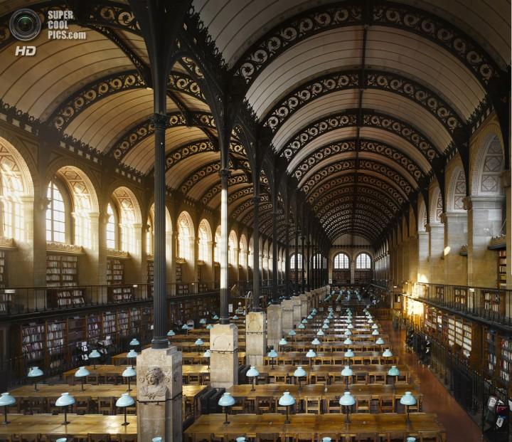 Франция. Париж. Библиотека Святой Женевьевы. (Will Pryce)