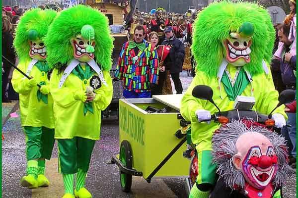 Базельский карнавал, Швейцария