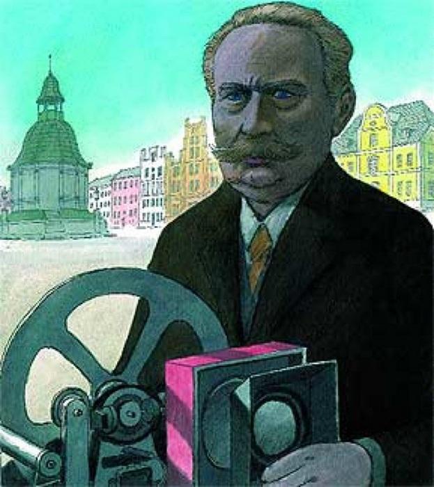 Пауль Джулиус Готлиб Нипков - создатель механического телевизора.