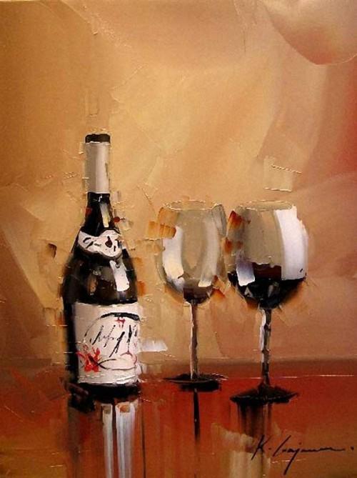 картина художник kal gajoum-23