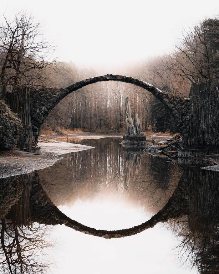 Мистический мост Ракоцтбрюке, который построил Дьявол Fullsize