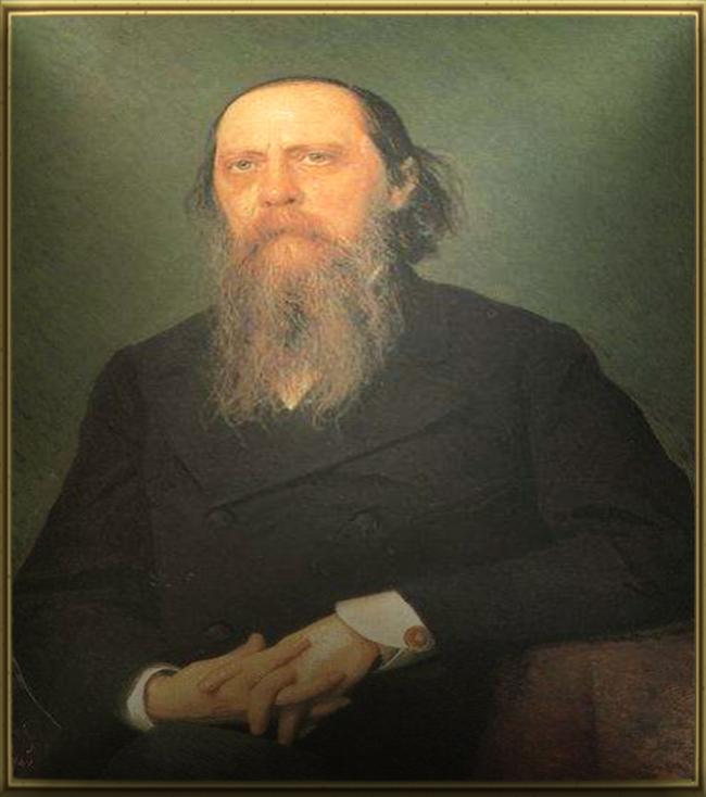 Портрет М.Е.Салтыкова - Щедрина