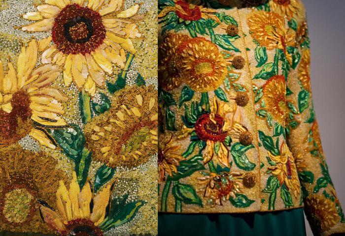 Вышивки по мотивам работ Винсента Ван Гога.
