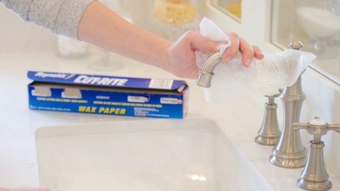 Чистота кранов тоже зависит от пергамента для выпекания. /Фото: utro.tv