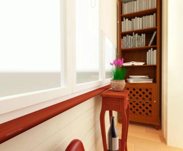 Дизайн балконов, остекление балконов под ключ.