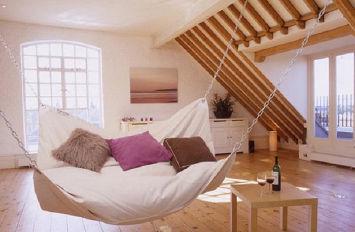 Очень интересная идея для загородного домика.