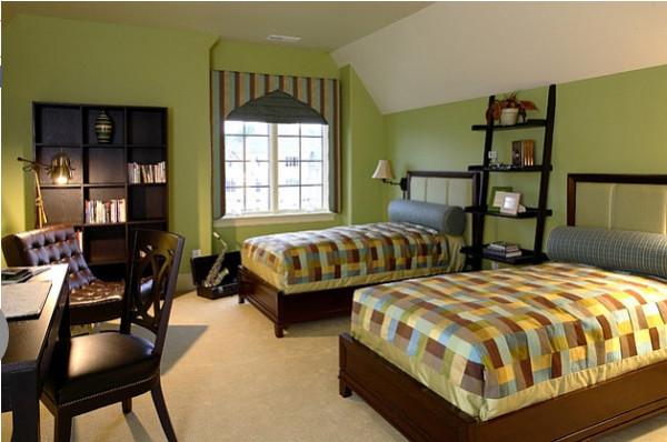 Спальня от Kelly Cruz Interiors