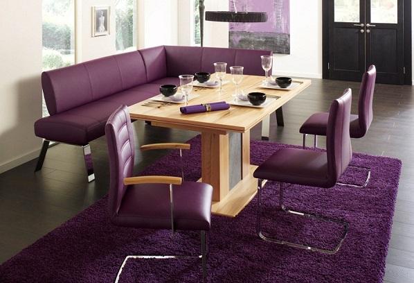 Вариации фиолетового цвета: мебель в пурпурных  тонах