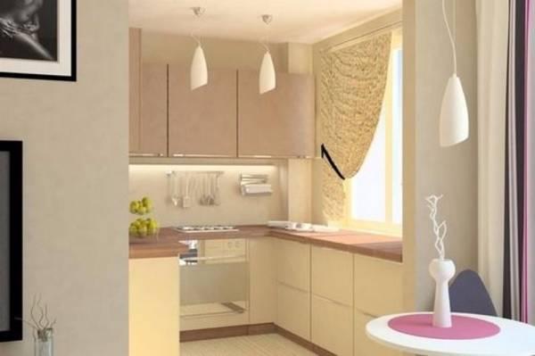 дизайн маленькой угловой кухни, фото 23