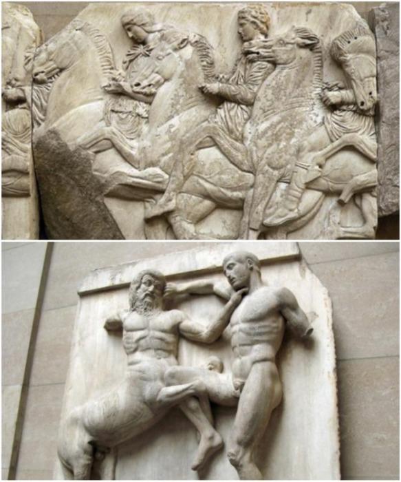 Уцелевшие фрагменты барельефов также находятся в Британском музее. | Фото: yerkramas.org.