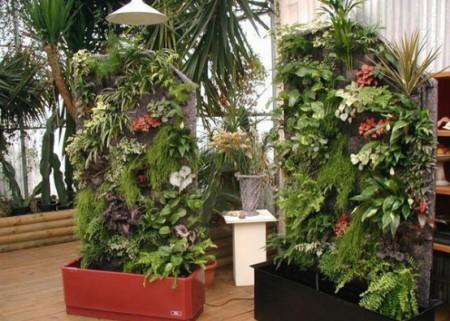 Небольшие вертикальные сады