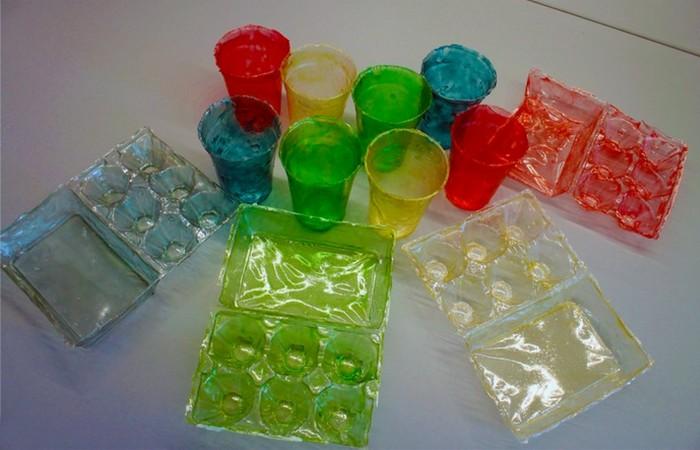Альтернатива пластику: креветки.