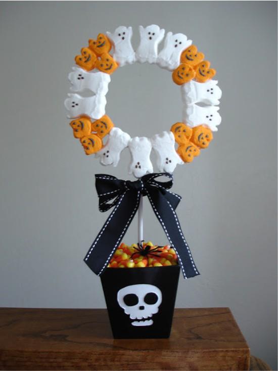 Топиарий для Хэллоуина