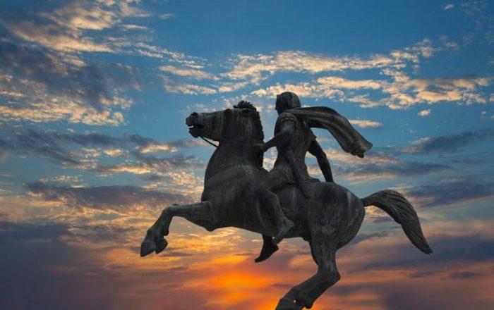 Скульптура Александра Македонского.