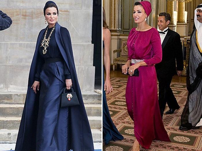 Шейха Моза (вторая жена бывшего эмира Катара)
