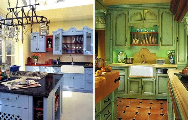 Цветные английские кухни