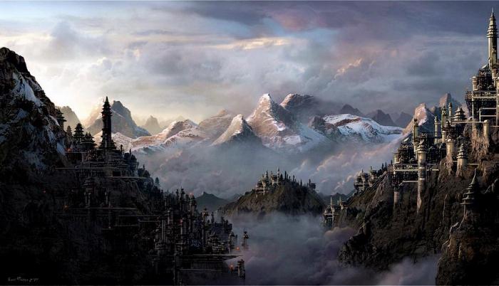 Фантастические миры от Сарела Терона