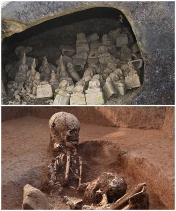 «Кувшины мертвых» - один из самых загадочных археологических объектов в мире.  Фото: gazeta.spb.ru/ Live Science .