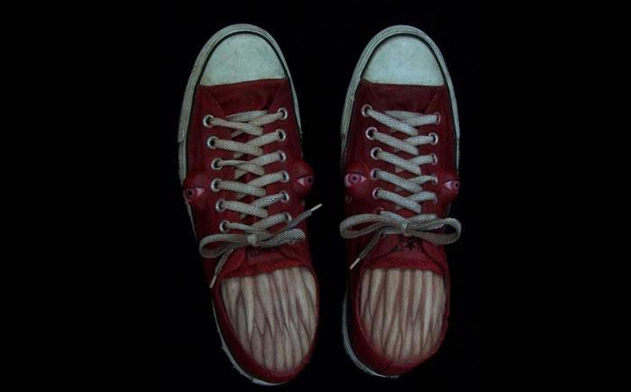 Кусающаяся обувь