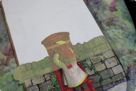 Декор предметов, Мастер-класс Декупаж: как соединить 2 салфетки м\к Салфетки Новый год. Фото 8