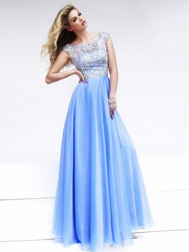 Прямое платье выпускное