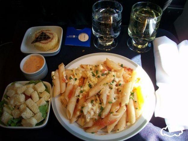 еда, самолет