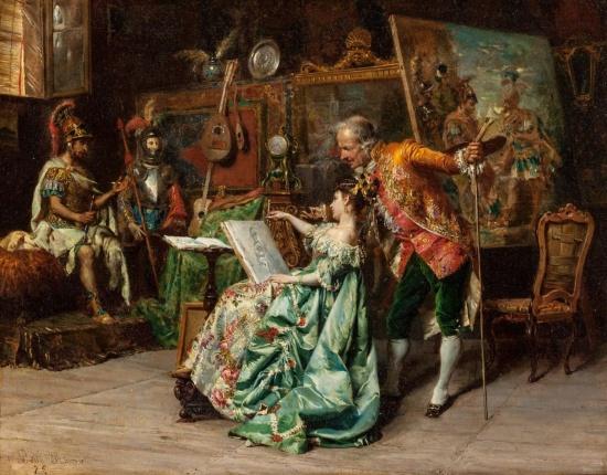 художник Чезаре Аугусто Детти (Cesare Auguste Detti) картины – 08