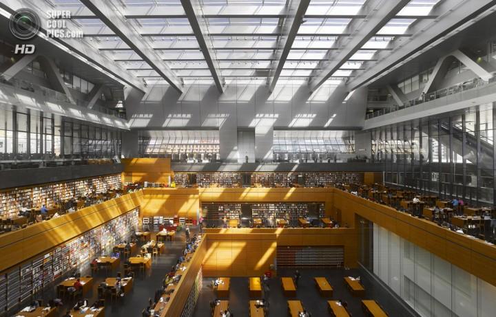 Китай. Пекин. Национальная библиотека Китая. (Will Pryce)