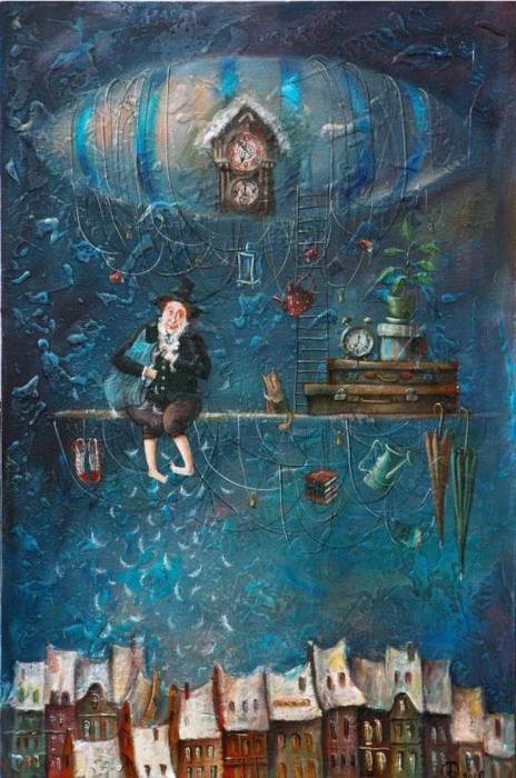 Рождение надежд в дыхании нового дня.  Автор: Яна Фефелова.