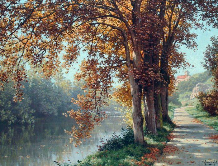 художник René Charles Edmond His картины -2-13