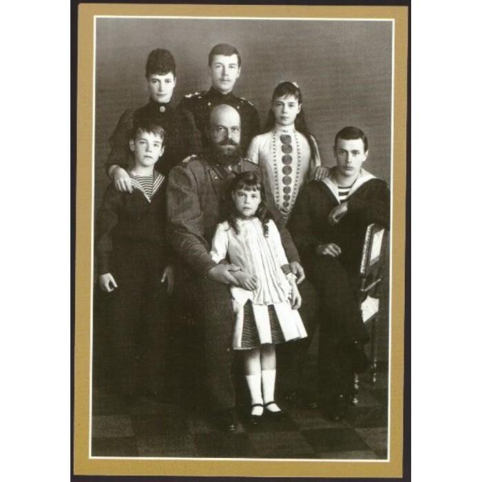 Александр III с наследниками./Фото: krymizdat.ru