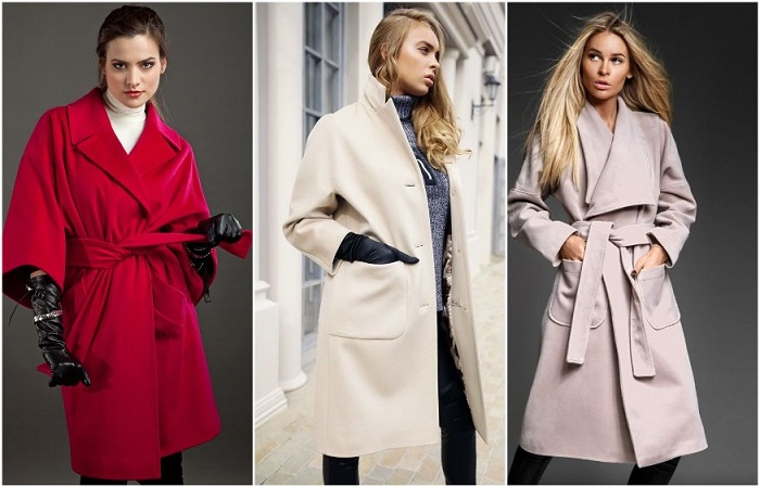 Модные пальто из кашемира