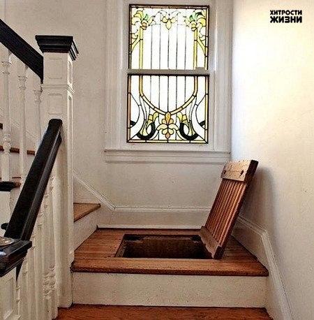 """""""Тайные"""" места в маленькой квартире"""