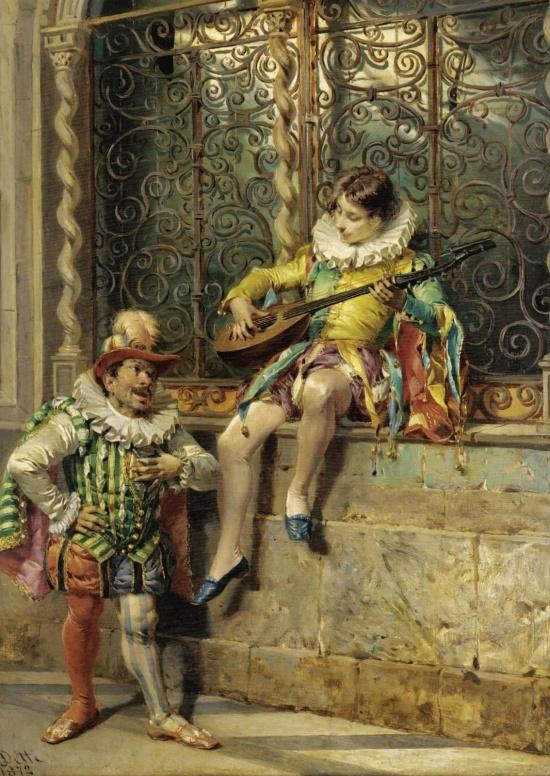 художник Чезаре Аугусто Детти (Cesare Auguste Detti) картины – 12
