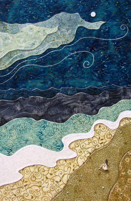 beach quilt: