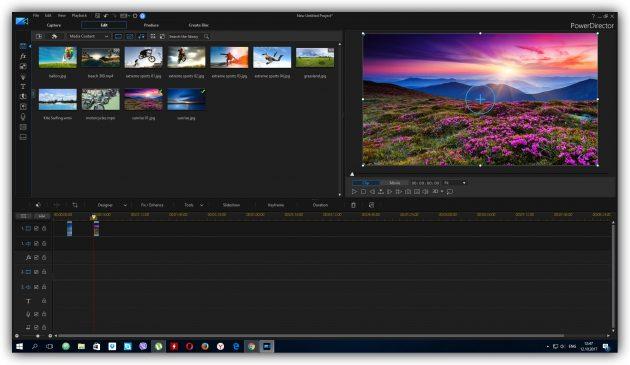 Программы для монтажа видео: CyberLink PowerDirector 16 Ultra