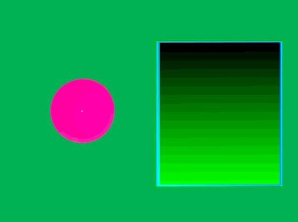оптические иллюзии, затмение Тритона