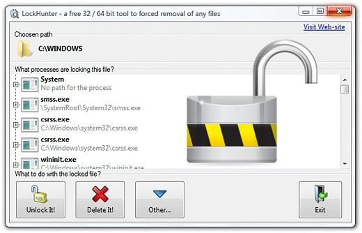 Програмку для удаление неудаляемых файлов на российском языке