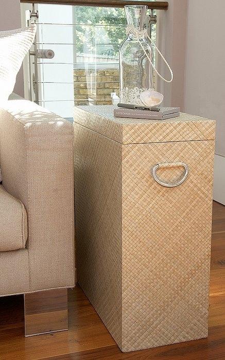Коробки и ящики в интерьере