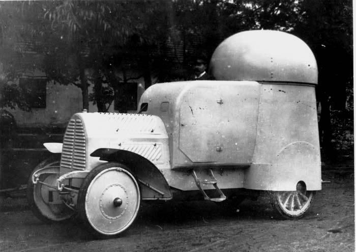 Бронеавтомобиль Austro-Daimler Panzerwagen (Австро-Венгрия)