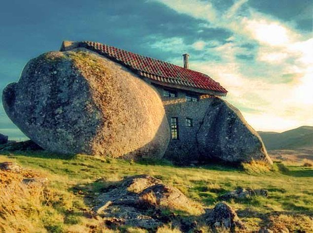 Каменный дом (Гимарайнш, Португалия)
