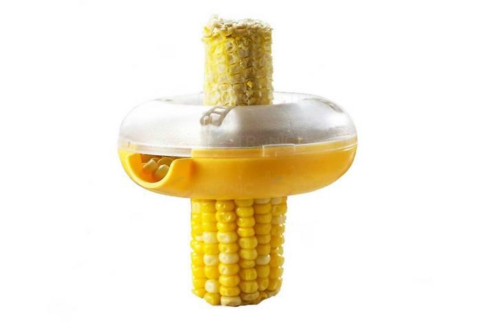 Смешной кухонный гаджет: очиститель кукурузы.