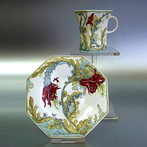 Фарфоровые диковины эпохи Ар Нуво, фото № 25
