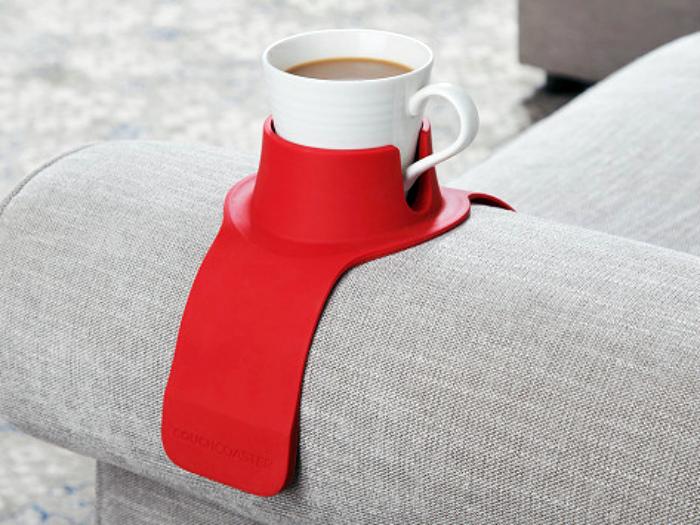 Мягкая подставка под чашку. | Фото: Notinerd Fans.