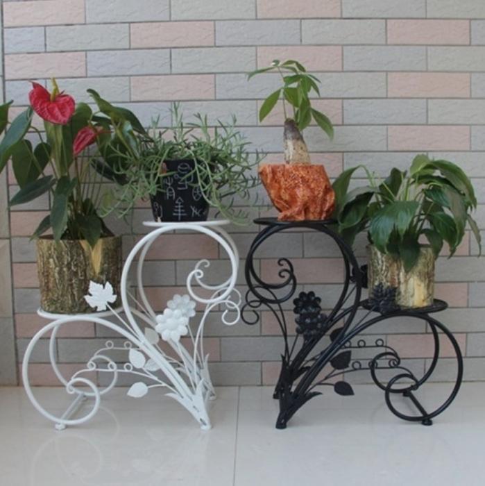Кованые подставки для цветов