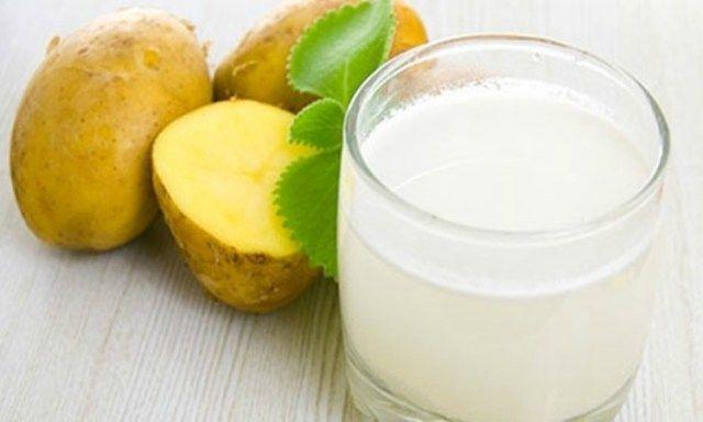 Лечение гастрита соком картофеля