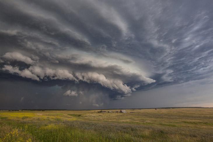 Начинается буря в Южной Дакоте