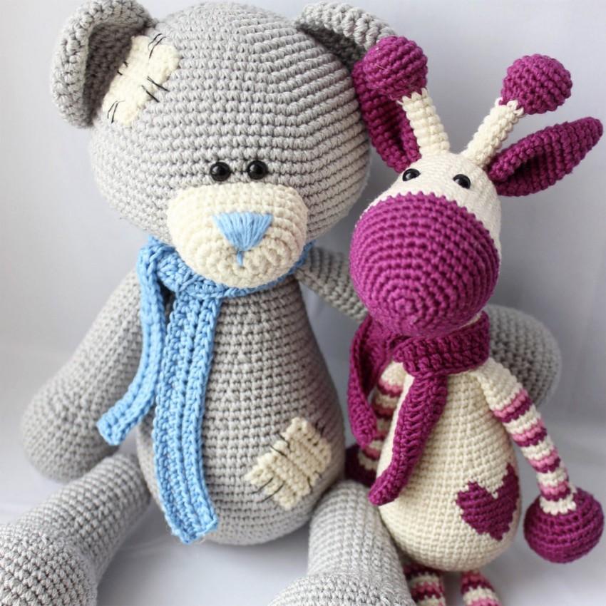 Картинки схемы вязания игрушек