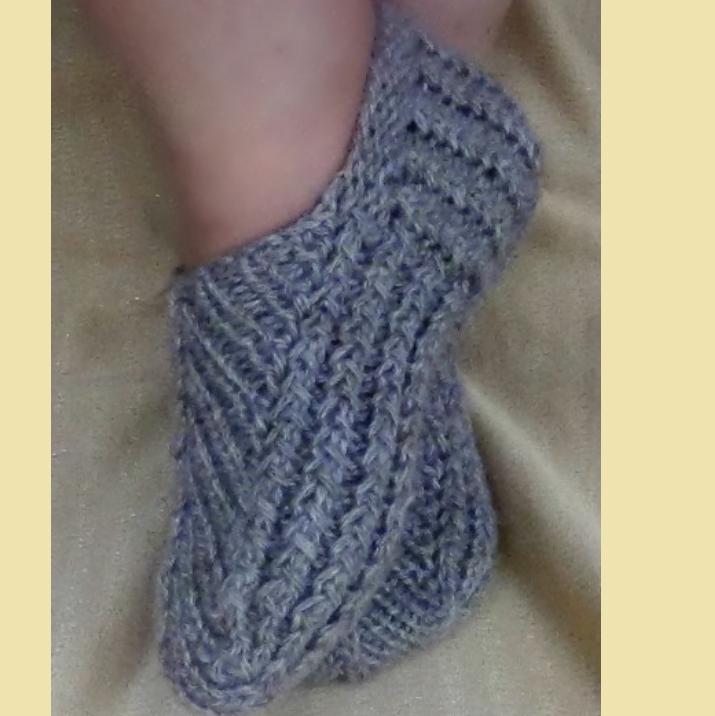 Плетеная подошва
